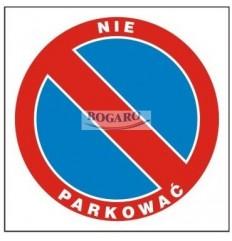 Znak Zakaz postoju ZDW-07