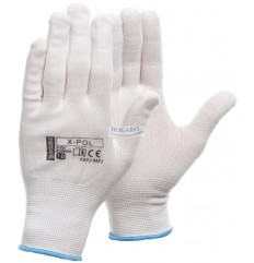 Rękawice poliestrowe...