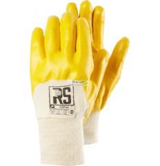 Rękawice nitrylowe żółte RS...