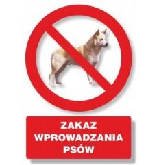 Znak BHP TBI-25 PCVZ Zakaz...