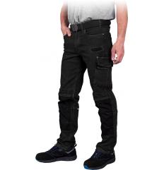 Elastyczne spodnie do pasa...