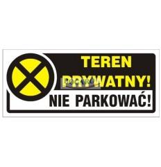 Znak Naklejka TBI-15N Teren...