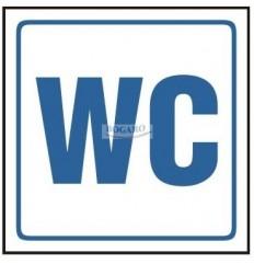 Znak NAKLEJKA WC TI-94