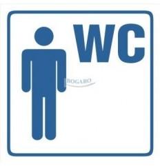 Znak NAKLEJKA WC Męski TI-96