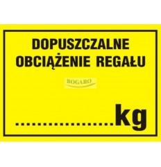 Znak naklejka 5x7 cm...