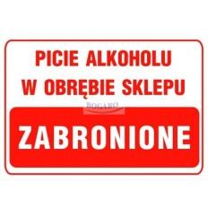 Znak tablica TI-05 Picie...