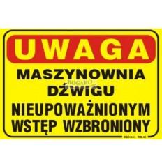 Znak Naklejka TID-01...