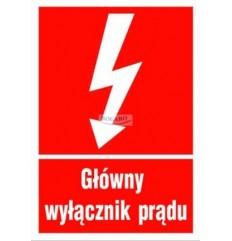 Znak tabliczka OPP-01...
