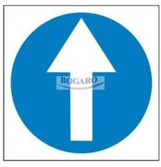 Znak Nakaz jazdy w...