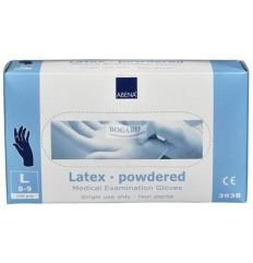 Rękawice latex lateksowe ABENA
